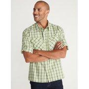 Men's Air Strip™ Check Plaid Long-Sleeve Shirt image number 4