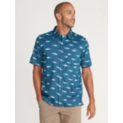 Men's Next-To-Nothing™ Pindo Print Short-Sleeve Shirt image number 0