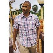 Men's Next-To-Nothing™ Pindo Print Short-Sleeve Shirt image number 4