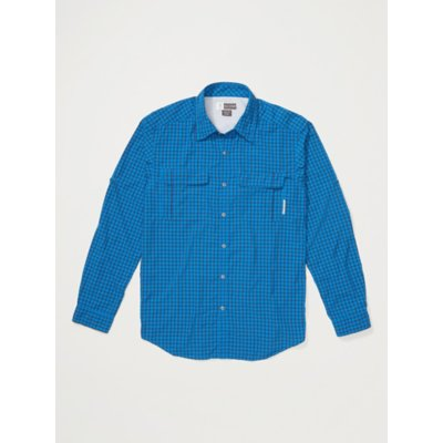 Men's BugsAway® Halo™ Check Long-Sleeve Shirt